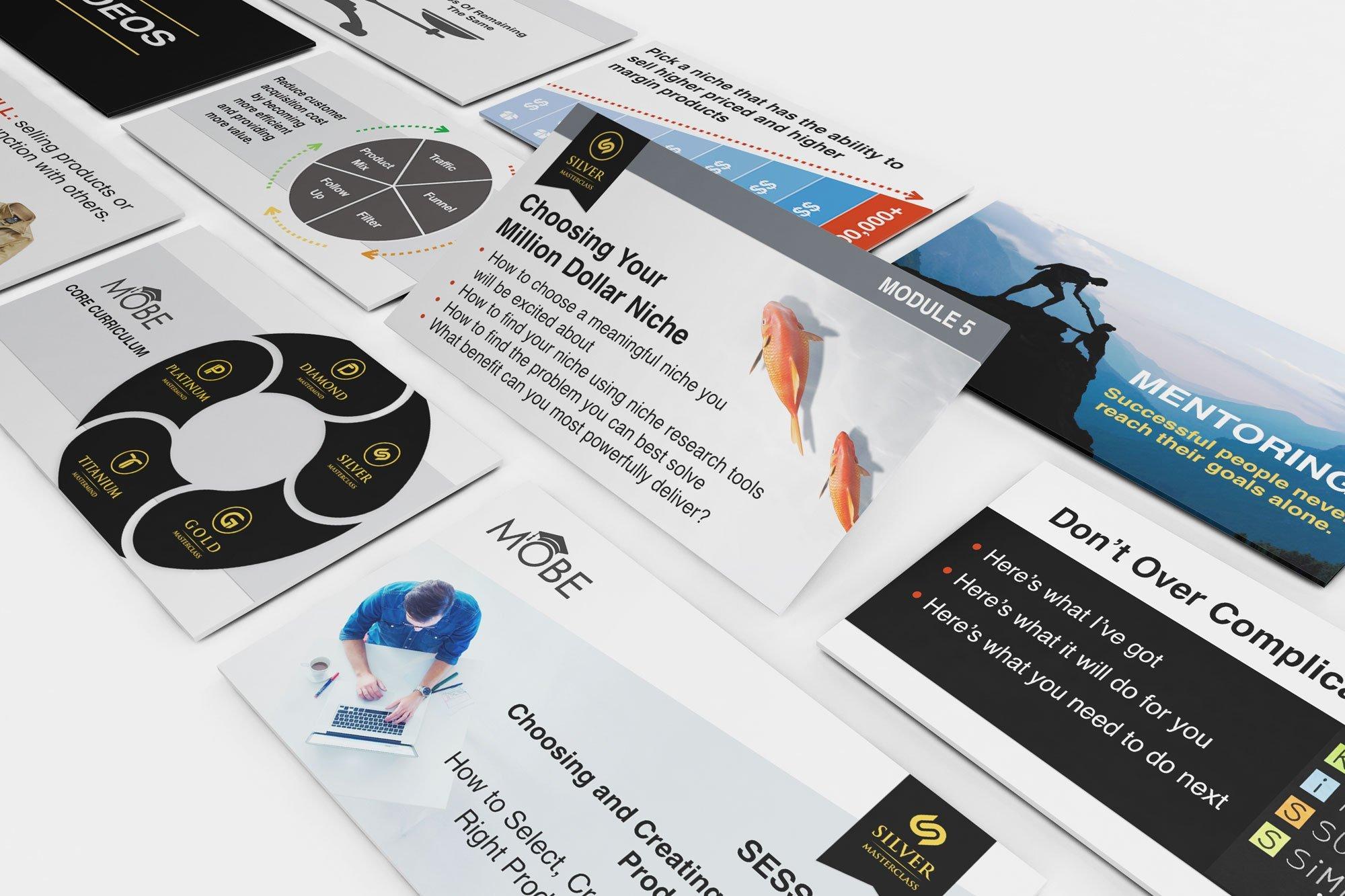 Keynote Online Course Slide Design